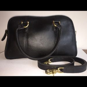 RESERVED coach Beaumont leather satchel bag